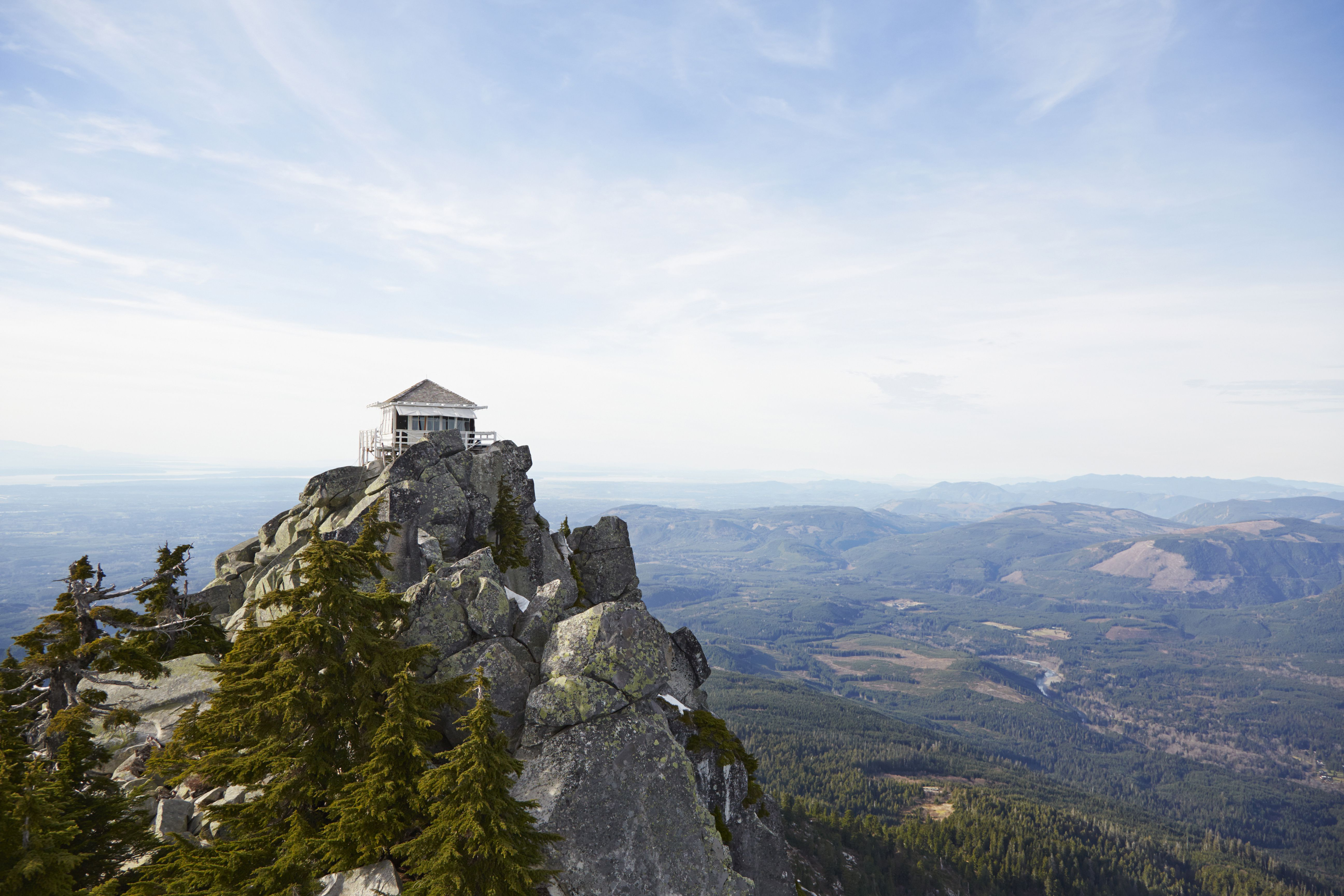 Camp Close To The Stars In A Fire Lookout
