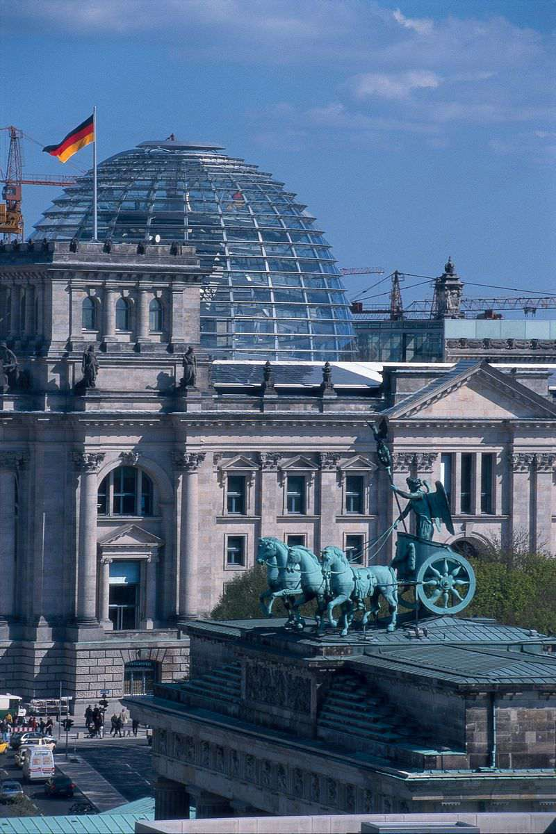 Berlin Reichstag with Glass Dome