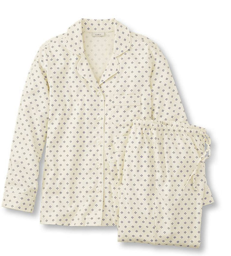 Pima Cotton Flannel Pajama Set