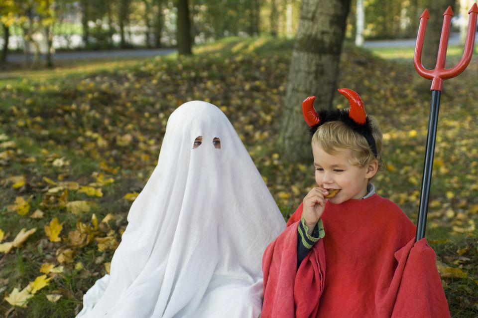The grandkids will like these ghost jokes almost as mch as they like Halloween costumes.