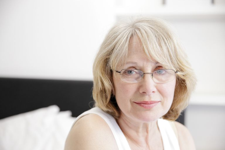 Unhappy middle aged woman