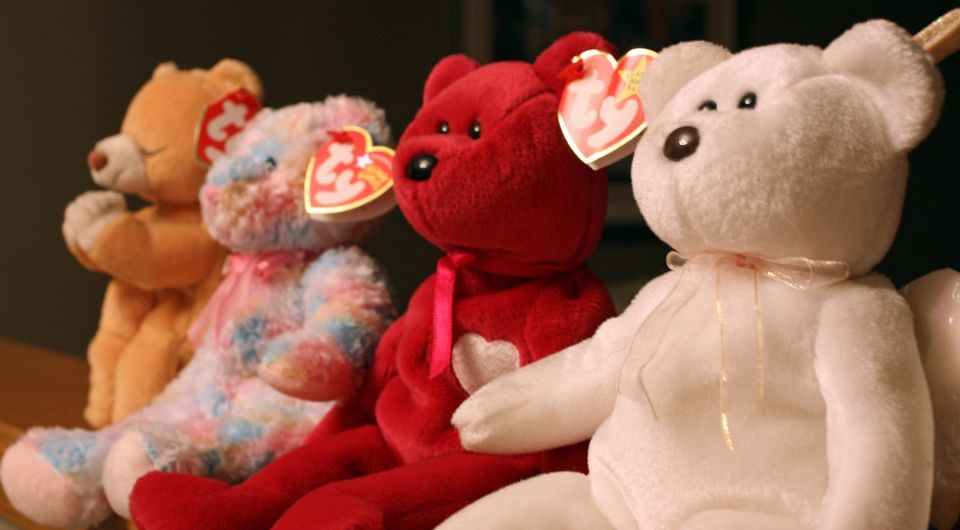 """Beanie Babies"" by Dominique Godbout is licensed under CC BY 2.0"