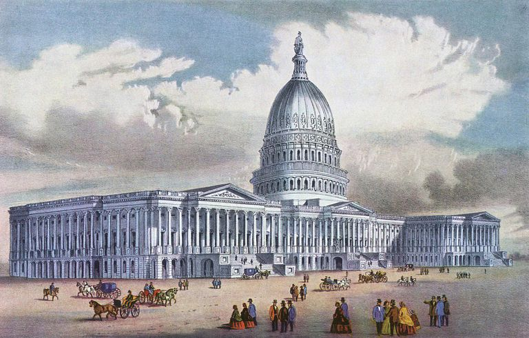 US Capitol 1900