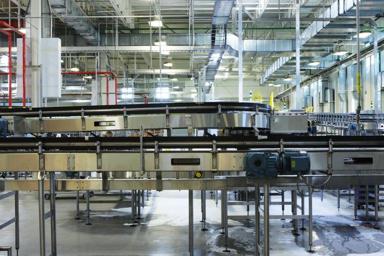 Factory Conveyor Food Beverage Packaging Machinery
