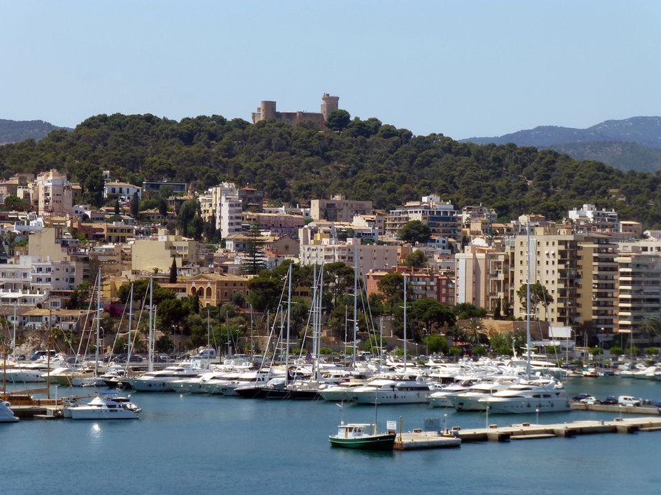 Harbor at Palma de Mallorca, Spain