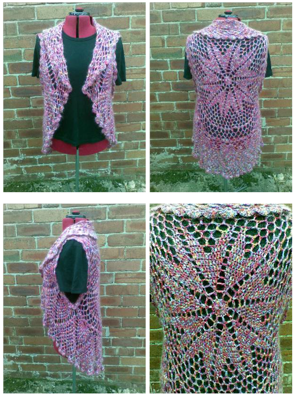 20 gorgeous free crochet cardigan patterns for women pineapple crochet circle cardigan free pattern bankloansurffo Image collections
