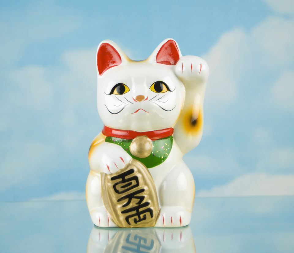 feng shui use of the lucky cat