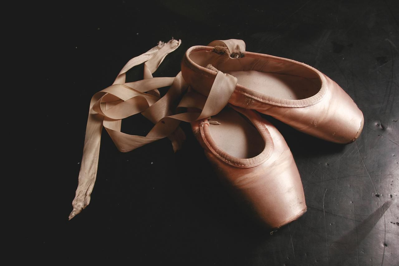 how to clean and remove stains from pointe shoes