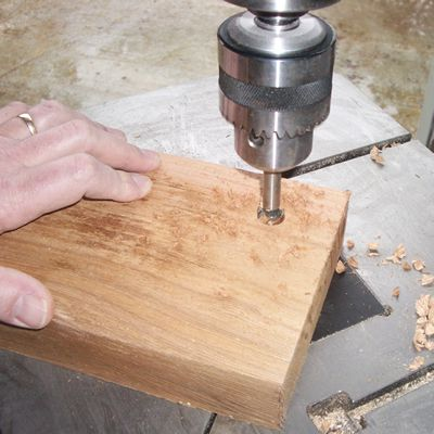 Drilling Out a Mortise