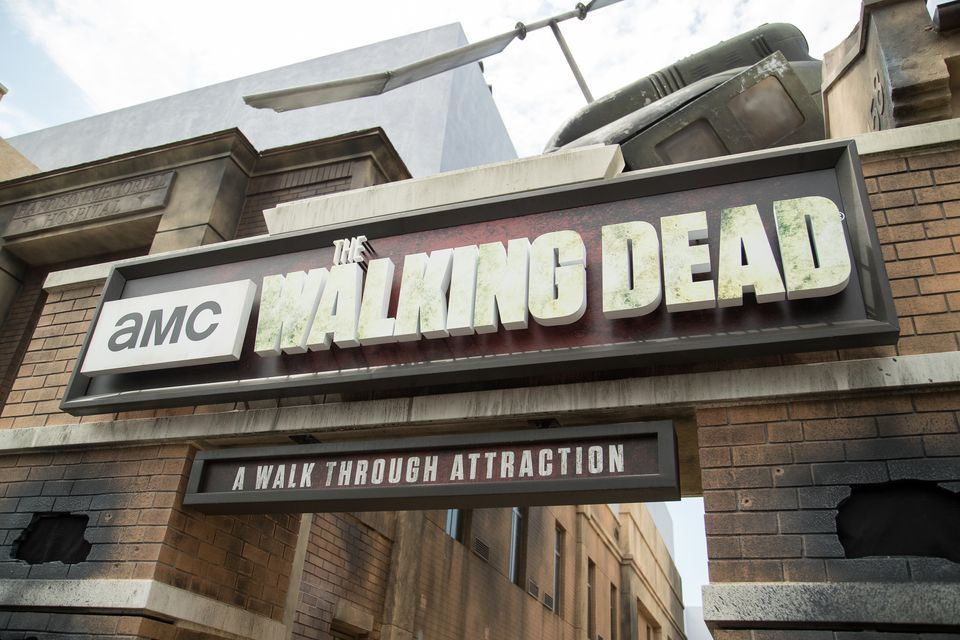 'The Walking Dead' Attraction 'Don't Open, Dead Inside' At Universal Studios Hollywood - Arrivals