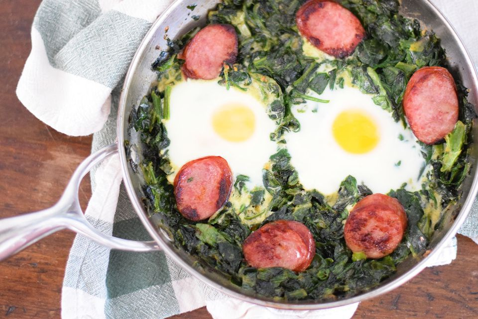 Grownup Green Eggs and Ham