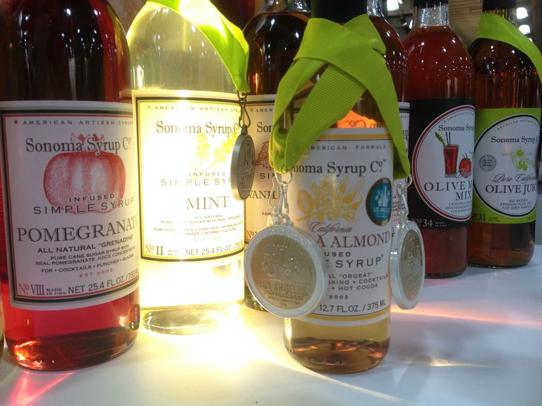 Line of Sonoma Syrup products 2015
