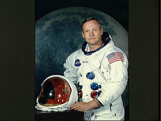 Neil Armstrong Pictures - Portrait of Astronaut Neil Armstrong, commander of the Apollo 11 mission