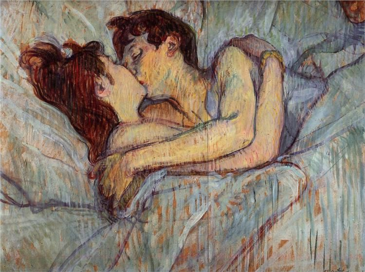 Toulouse Lautrec, Beso