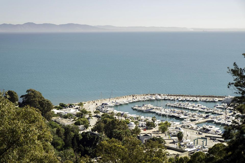 Scenic views from Ezzahra El Hamra Sidi Bou Said