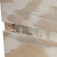 A Dado Cut in Plywood