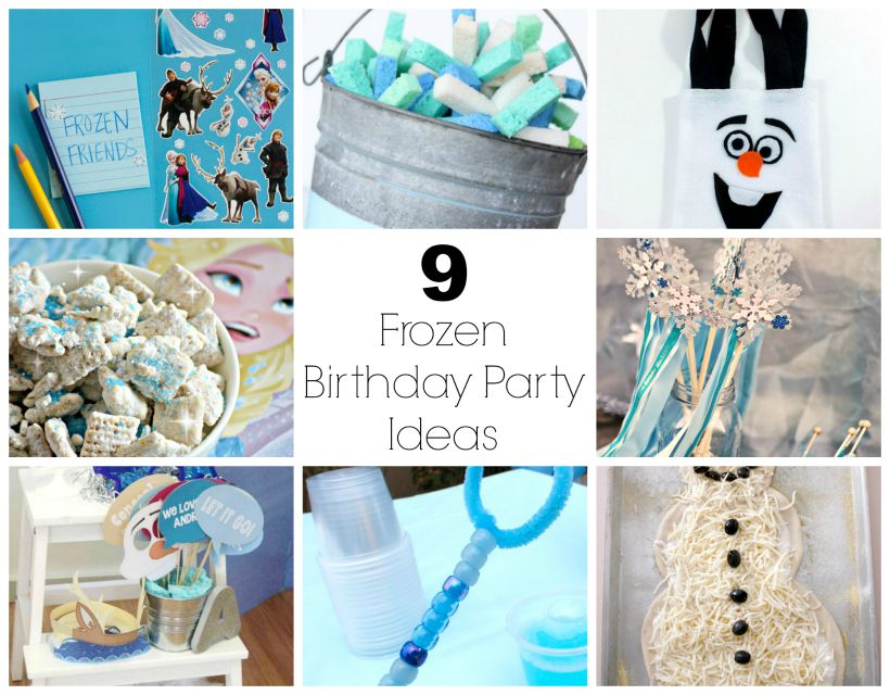 We Love The Movie Frozen Over At Our House Just Cant Get Enough Of It Throw Your Kids Best Birthday Party With These Ideas