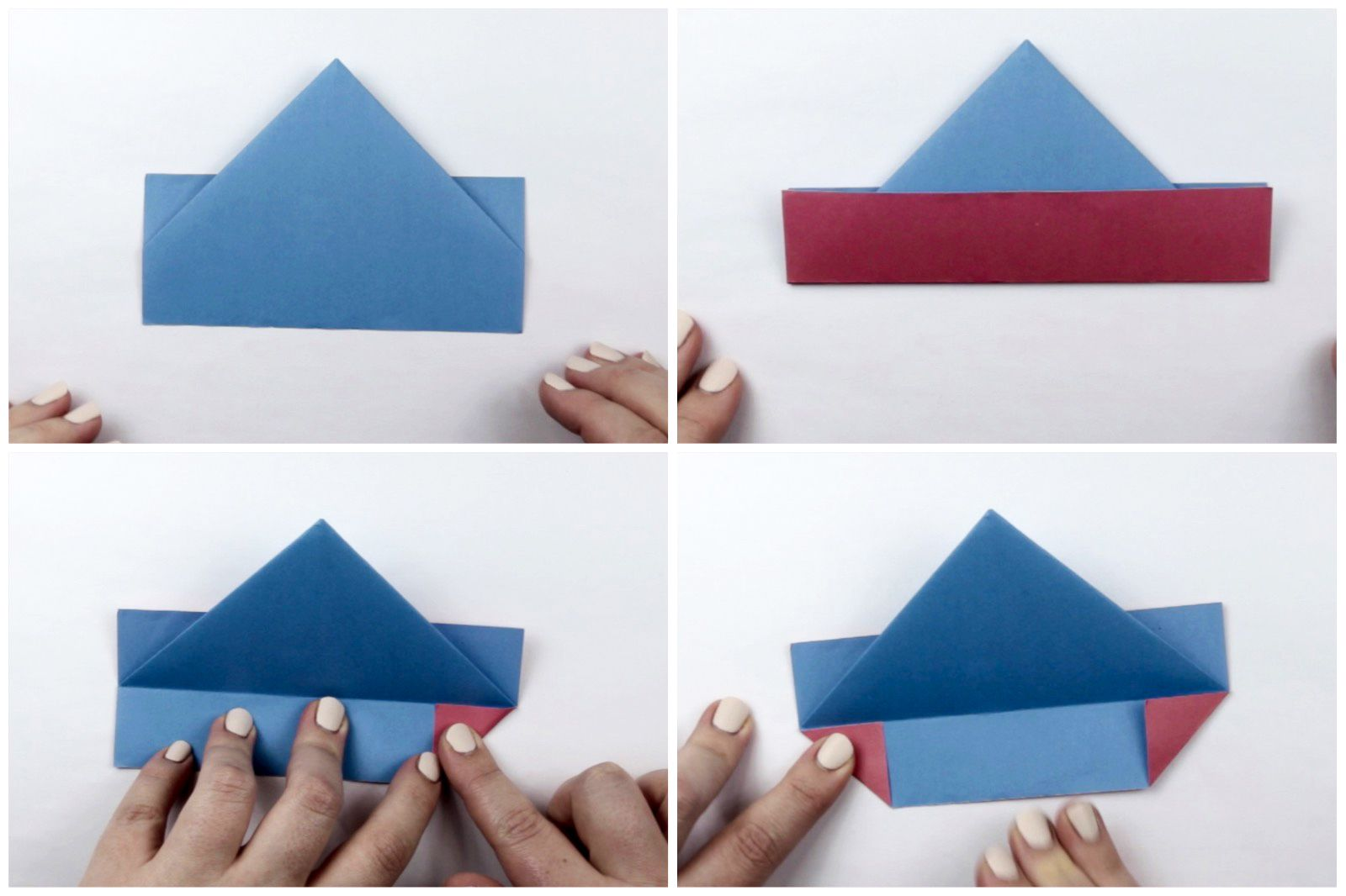 Instructions How To Make Paper Ship. Paper Ship Tutorial Step ... | 1066x1600