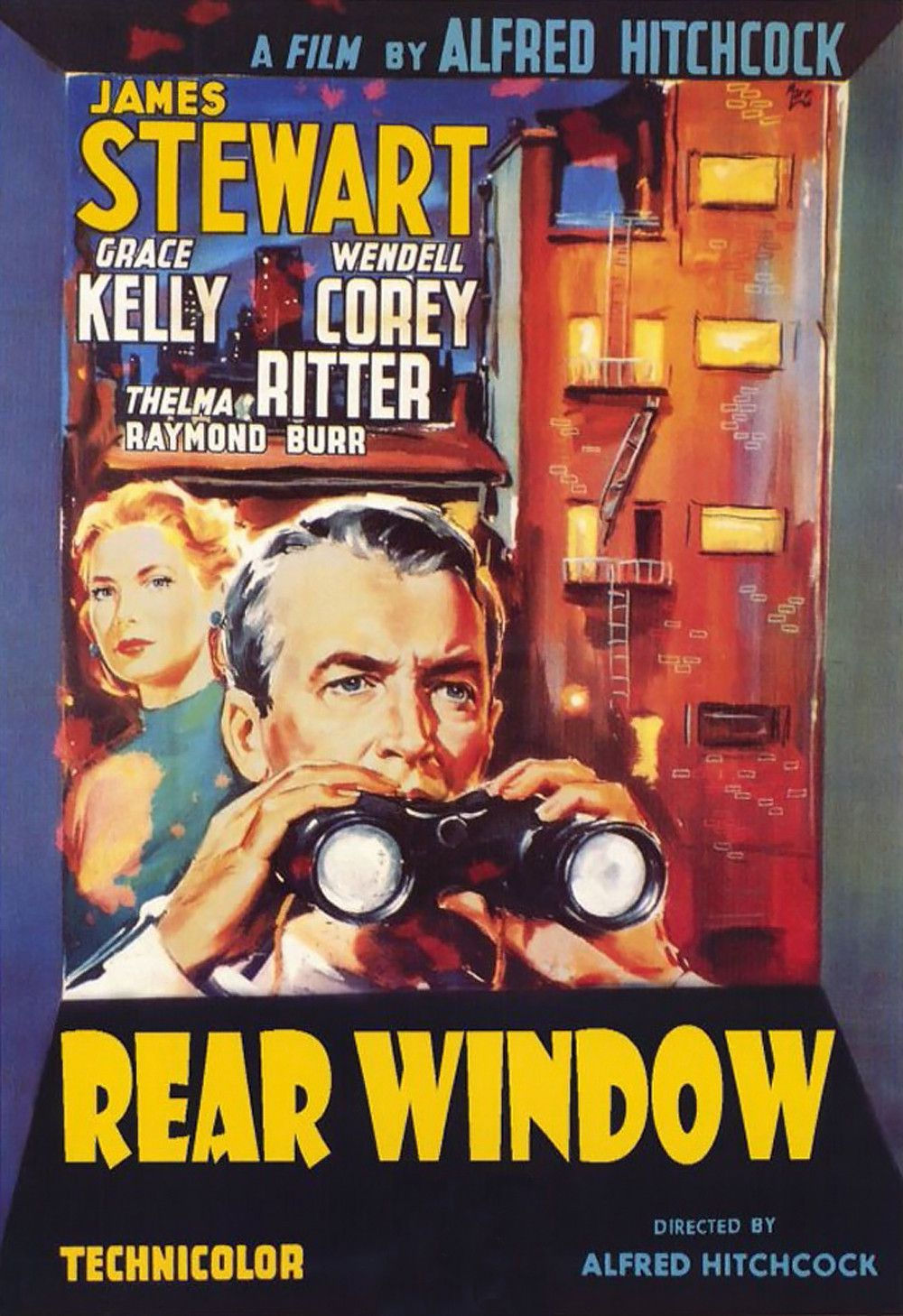 an analysis of the movie rear window One of the most crucial elements of rear window, and a very clever tactic  art  essays (8,424)  film & tv studies (3,300)  film review and analysis (1,948)   cropped screenshot from the trailer for the film rear window.