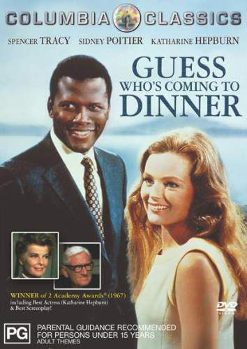 guess who is coming for dinner In 1960's america: guess who's coming to dinner came out in 1967, which was  also the year that the united states supreme court ruled in a case called.