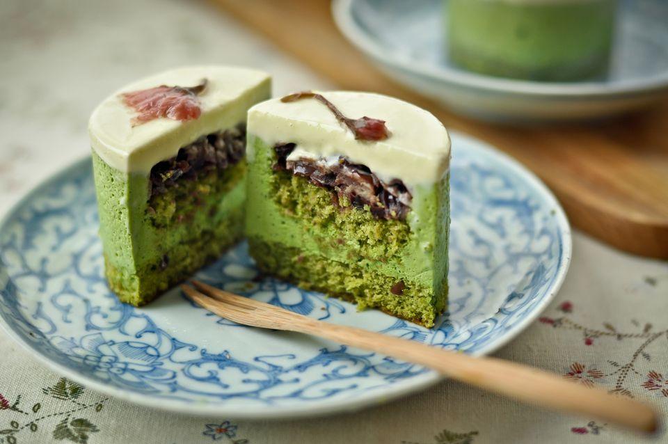 Matcha Green Tea Mousse Recipe