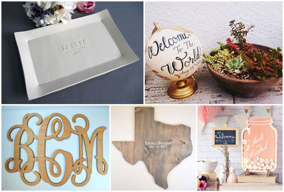 Five Unique Wedding Guestbook Ideas