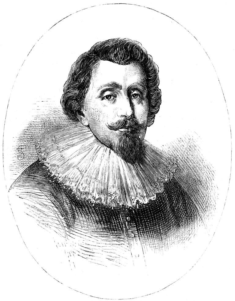 Cecil Calvert, 2nd Lord Baltimore, (c1880).