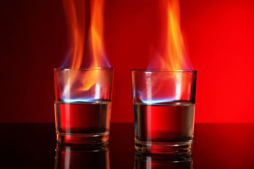 The Flaming Moe or Flaming Home Shot