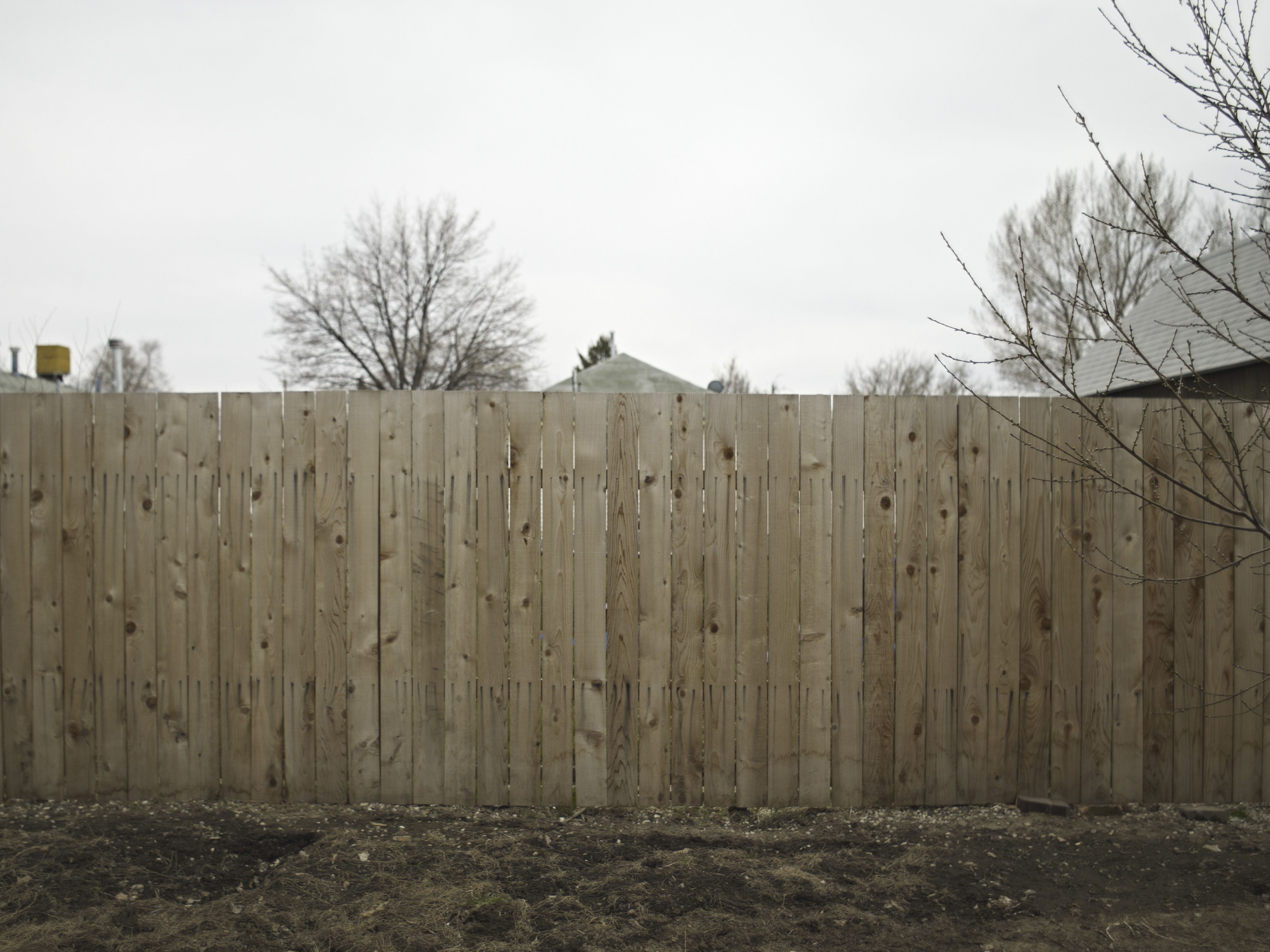 ideas for landscaping property lines