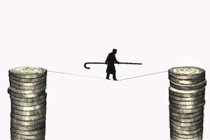 Walking the tightrope - using insurance to guaranteed your retirement income.