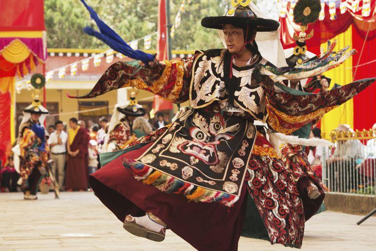 Nyingmapa Monk Dancing