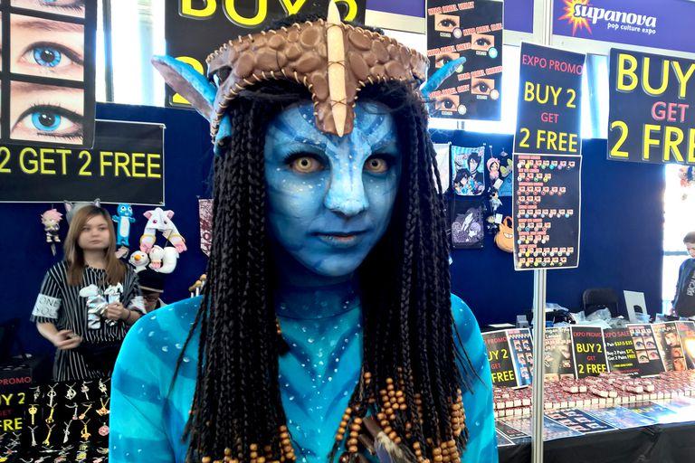 Avatar Cosplayer at Melbourne Supanova 2016