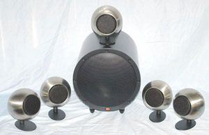 Anthony Gallo A'Diva SE Satellite and TR-3d Sub Speaker System w/Optional Table Stands