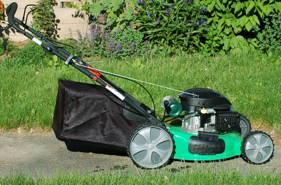 Propane operated mower made by Lehr called the Eco Mower.