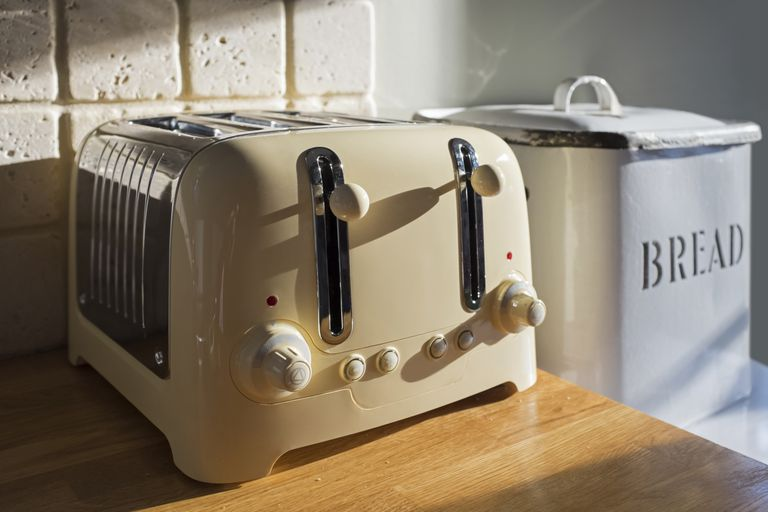 Toaster and Bread Box