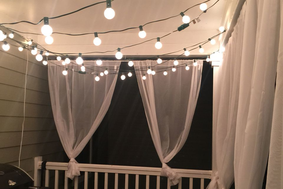Apartment Patio Ideas Privacy Outdoor Curtains