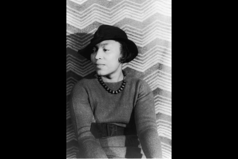 Zora Neale Hurston, photo portrait by Carl Van Vechten