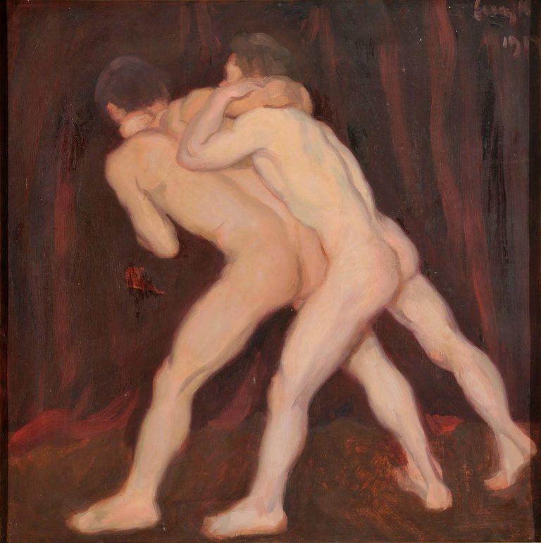 Adolescentes desnudos