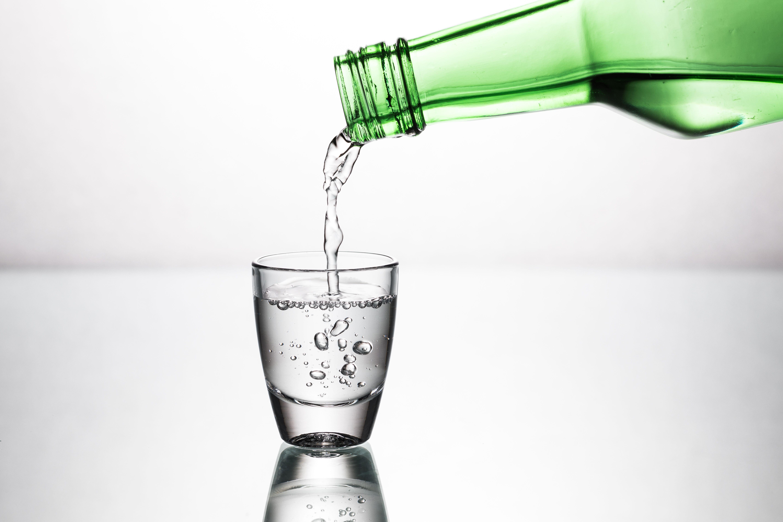 A Glass Of Soju