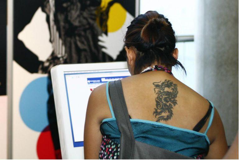 Semi-Permanent Tattoo