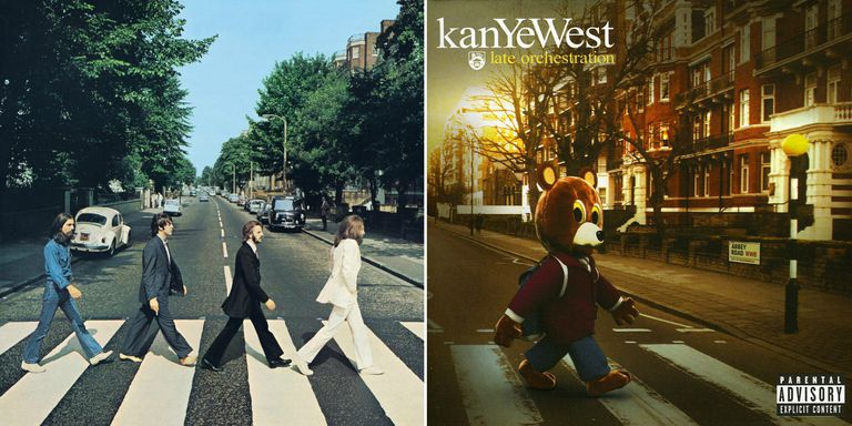 The Beatles' Abbey Road and Kanye West's Late Ochestration