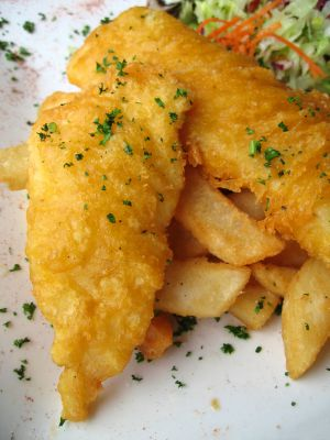 Gluten free beer battered fried fish recipe for The fish friar