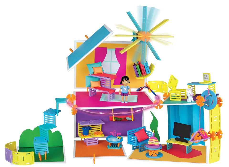 Roominate is a STEM toy suitable for the grandchildren, especially for girls