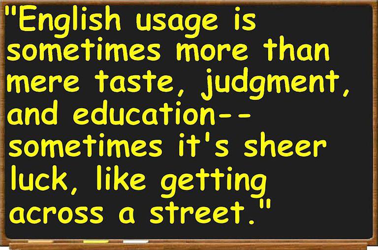 English usage