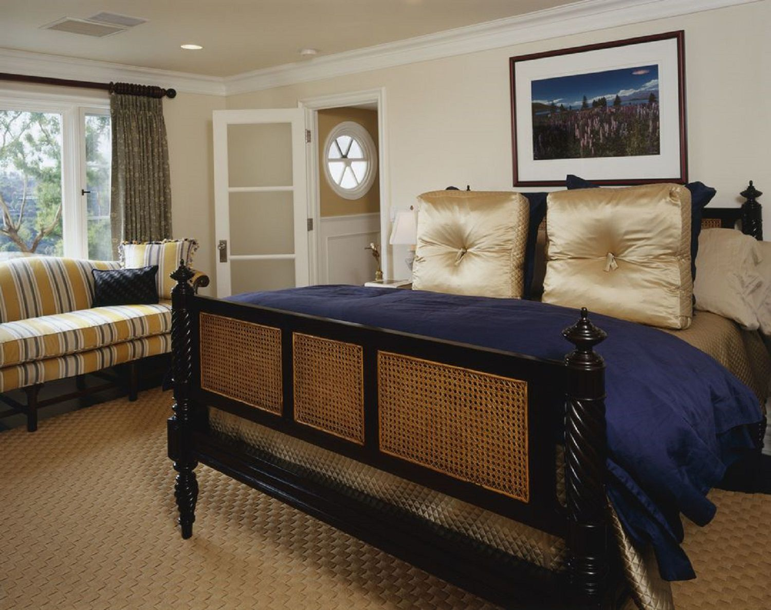 blue bedroom decorating tips and photos - Blue Brown Bedroom Pictures