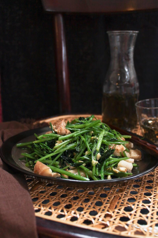Stir fry chinese celery