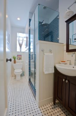 Small Bathroom Designs With Wainscoting small bathroom ideas to ignite your remodel