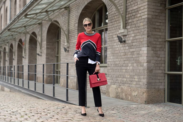 Street style work outfit