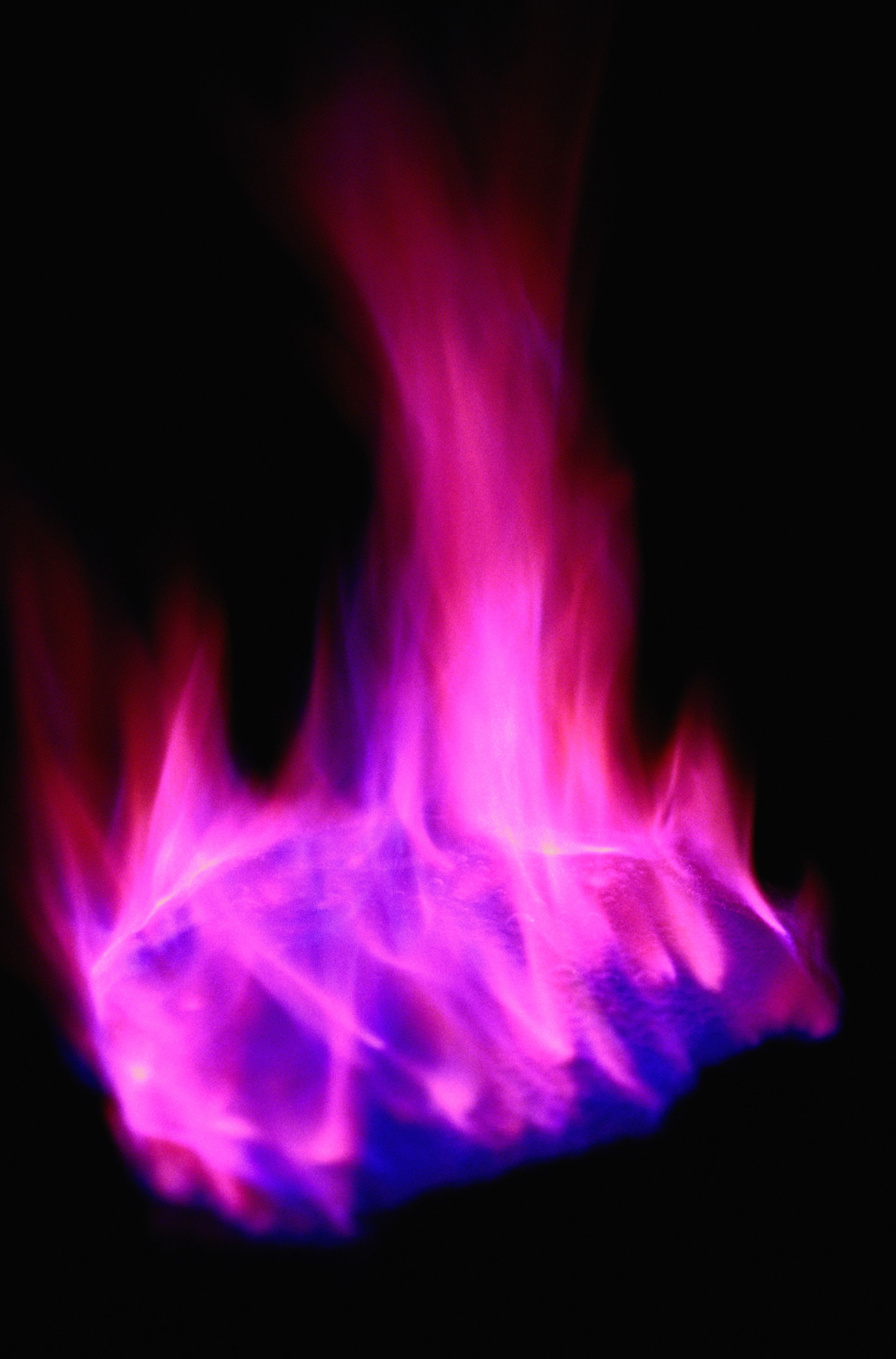 Pink And Purple Fire