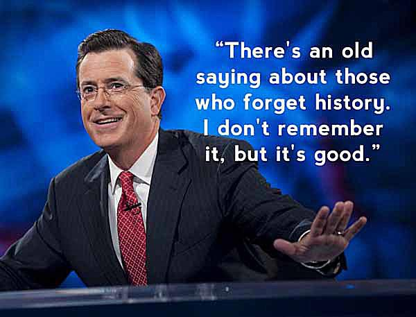Stephen Colbert Quotes and Funny Jokes